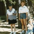 Jacque and mom on mothersday 1996